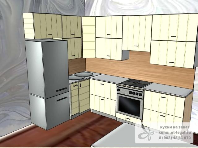 кухня в стиле модерн с барной стойкой в сызрани от 14 0316 кухни